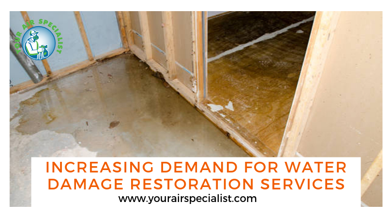 Increasing Demand for Water Damage Restoration Services