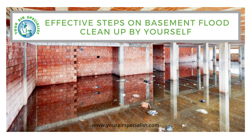 Effective Steps on Basement Flood Clean Up by Yourself