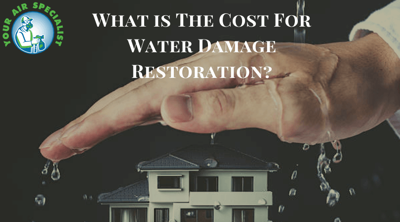 What is The Cost For Water Damage Restoration?