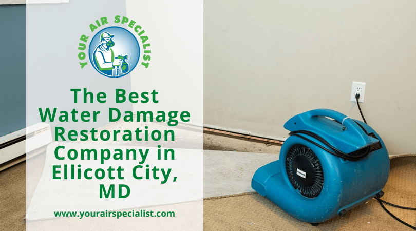The Best Water Damage Restoration Company in Ellicott City, MD
