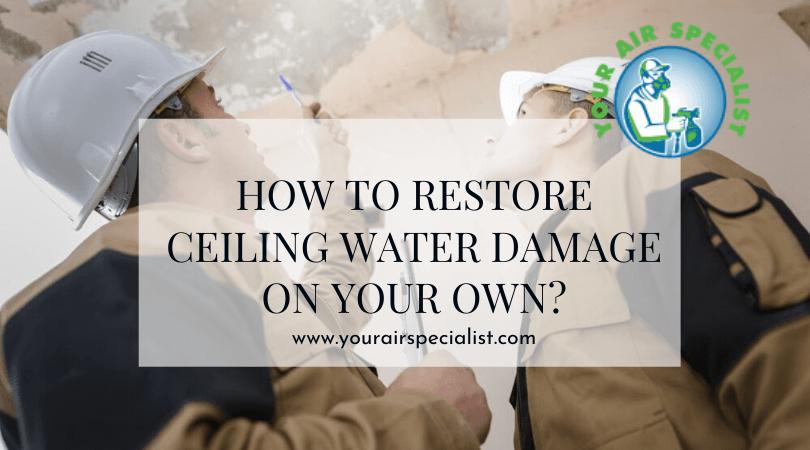 Water Damage Repair at Home